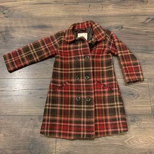 Gap Toddler Plaid Pea Coat